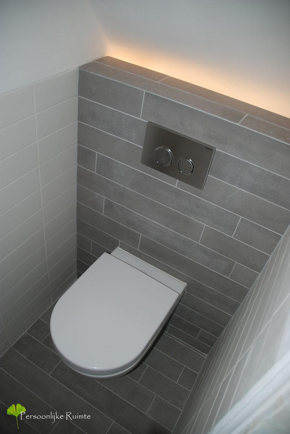 Toiletruimte persoonlijke ruimte - Wand trap ...